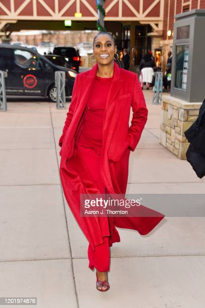 Actress/producer Issa Rae arrives at A Lowkey Conversation With Issa Rae and Prentice Penny Moderated by Bevy Smith the Sundance Film Festival on...