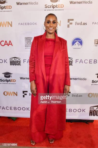 """Actress/producer Issa Rae arrives at """"A Lowkey Conversation With Issa Rae and Prentice Penny"""" Moderated by Bevy Smith the Sundance Film Festival on..."""