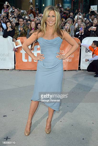 Actress/producer Jennifer Aniston arrives at the 'Life Of Crime' Premiere during the 2013 Toronto International Film Festival at Roy Thomson Hall on...