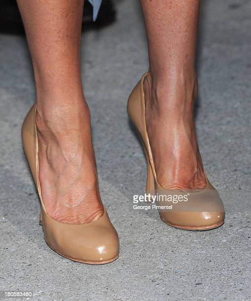 Actress/producer Jennifer Aniston arrives at the Life Of Crime Premiere during the 2013 Toronto International Film Festival at Roy Thomson Hall on...