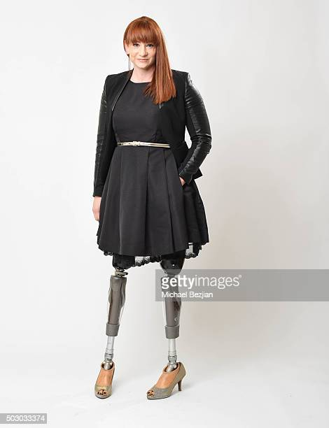 Actress/producer Katy Sullivan poses for portrait at The Starving Artists Project on December 23 2015 in Los Angeles California