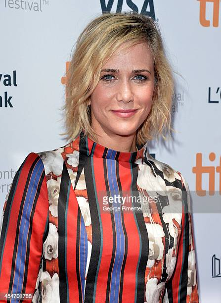 Actress/Producer Kristen Wiig attends the 'Welcome To Me' premiere during the 2014 Toronto International Film Festival at Princess of Wales Theatre...