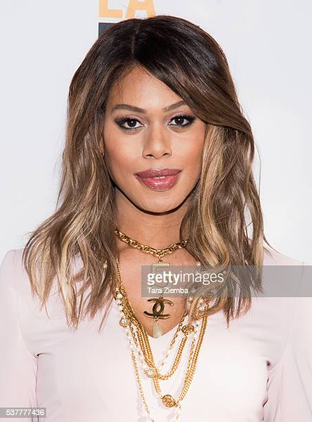 Actress/Producer Laverne Cox attends the premiere of 'FREE Cece!' at Arclight Cinemas Culver City on June 2, 2016 in Culver City, California.