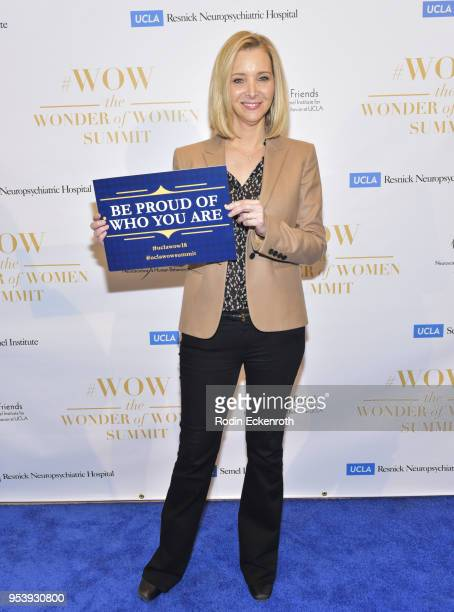 Actress/producer Lisa Kudrow arrives at The Wonder of Women Summit at UCLA on May 2 2018 in Los Angeles California