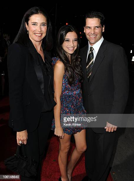 Actress/producer Mimi Rogers Lucy Julia RogersCiaffa and executive producer Chris Ciaffa arrive at the premiere of Twentieth Century Fox's...