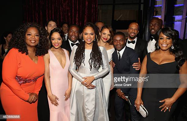 Actress/producer Oprah Winfrey producer Jeremy Kleiner actors Tessa Thompson Wendell Pierce director Ava DuVernay actors Carmen Ejogo David Oyelowo...