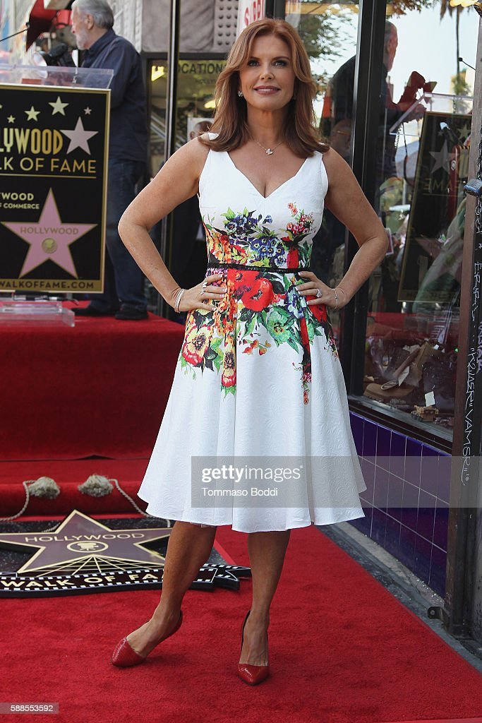 Roma Downey Honored With Star On The Hollywood Walk Of Fame