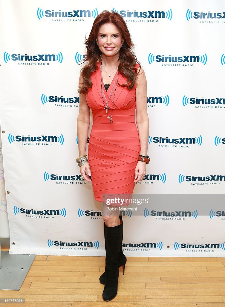 Actress/producer Roma Downey visits at SiriusXM Studios on February 26, 2013 in New York City.