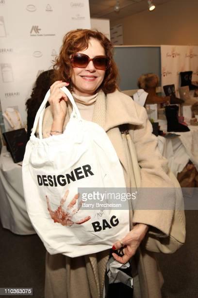 Actress/producer Susan Sarandon visits the Kari Feinstein Sundance Style Lounge on January 17, 2009 in Park City, Utah.