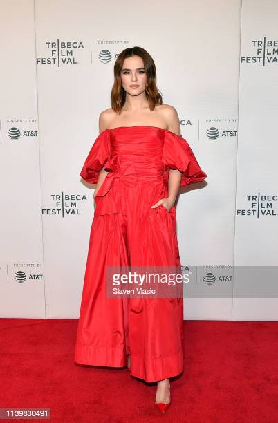Actress/producer Zoey Deutch attends the premiere for Buffaloed during 2019 Tribeca Film Festival at Regal Cinema Battery Park on April 27 2019 in...