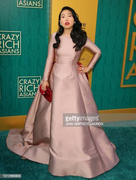 Actress/rapper Awkwafina attends the premiere of Warner Bros Pictures' 'Crazy Rich Asians' in Hollywood California on August 7 2018