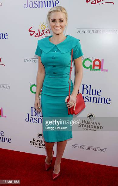 Actress/recording artist AJ Michalka arrives at the Los Angeles premiere of 'Blue Jasmine' at the Academy of Motion Picture Arts and Sciences on July...