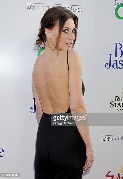 Actress/recording artist Aly Michalka arrives at the Los Angeles premiere of Blue Jasmine at the Academy of Motion Picture Arts and Sciences on July...