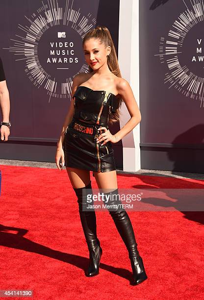 Actress/Recording Artist Ariana Grande attends the 2014 MTV Video Music Awards at The Forum on August 24 2014 in Inglewood California