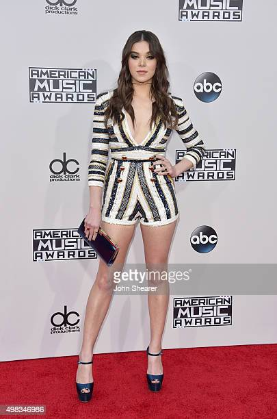 Actress/recording artist Hailee Steinfeld attends the 2015 American Music Awards at Microsoft Theater on November 22 2015 in Los Angeles California