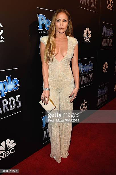 Actress/recording artist Jennifer Lopez attends the PEOPLE Magazine Awards at The Beverly Hilton Hotel on December 18 2014 in Beverly Hills California