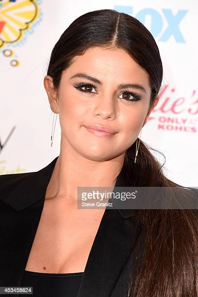 Actress/recording artist Selena Gomez attends FOX's 2014 Teen Choice Awards at The Shrine Auditorium on August 10 2014 in Los Angeles California