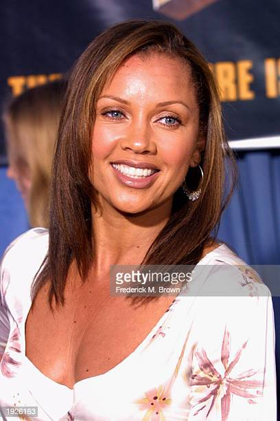 Actress/recording artist Vanessa L Williams attends the film premiere of Holes at the El Capitan Theater on APRIL 11 2003 in Hollywood California The...