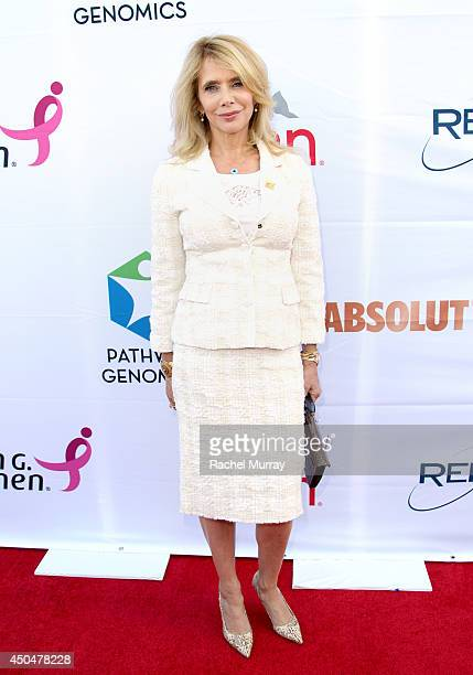 ActressRosanna Arquette attends PATHWAY TO THE CURE A fundraiser benefiting Susan G Komen presented by Pathway Genomics Relativity Media and evian...