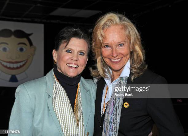 Actresss Ann Reinking and producer Brenda Siemer Scheider attend Exploring Marfan Syndrome With Actress Ann Reinking during the 9th Annual Garden...