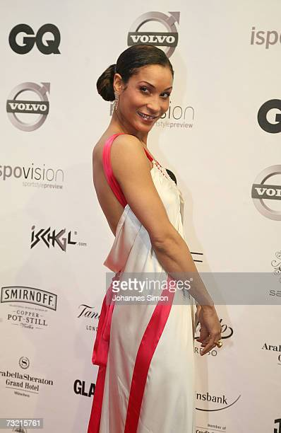 Actresss Annabell Mandeng attends the GQ Ispovision Style night, February 5 in Munich, Germany.