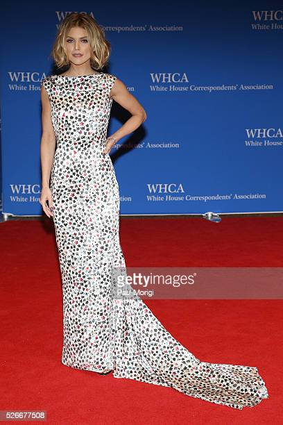 Actresss AnnaLynne McCord attends the 102nd White House Correspondents' Association Dinner on April 30 2016 in Washington DC