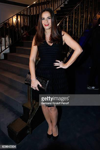Actresss Elisa Tovati attends the Annual Charity Dinner hosted by the AEM Association Children of the World for Rwanda at Pavillon Ledoyen on...