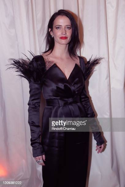 Actresss Eva Green attends Cesar Film Award 2020 Dinner at Le Fouquet's on February 28, 2020 in Paris, France.
