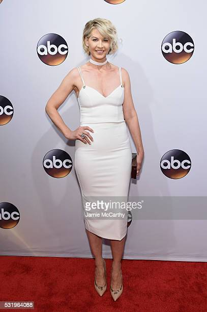 Actresss Jenna Elfman attends the 2016 ABC Upfront at David Geffen Hall on May 17 2016 in New York City
