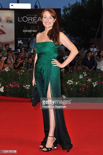 Actresss Jennifer Ehle attends the Contagion premiere during the 68th Venice Film Festival at Palazzo del Cinema on September 3 2011 in Venice Italy