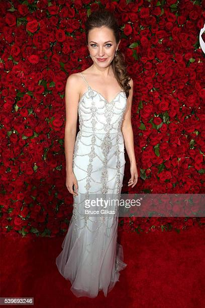 Actresss Laura Osnes attends 70th Annual Tony Awards Arrivals at Beacon Theatre on June 12 2016 in New York City