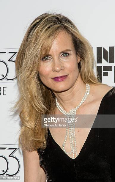 Actresss Lori Singer attends the 53rd New York Film Festival premiere of Experimenter at Alice Tully Hall on October 6 2015 in New York City