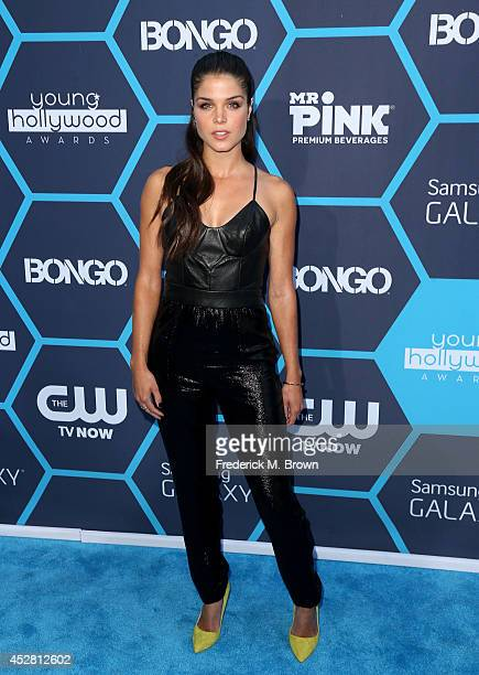 Actresss Marie Avgeropoulos attends the 2014 Young Hollywood Awards brought to you by Samsung Galaxy at The Wiltern on July 27 2014 in Los Angeles...