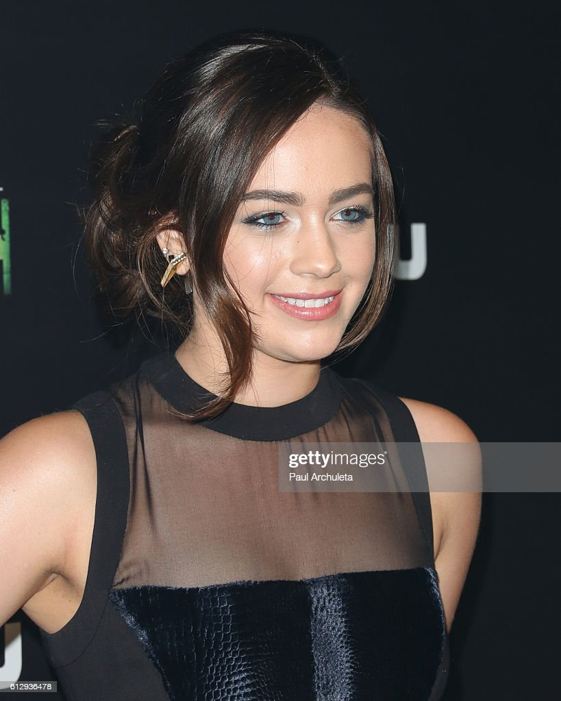 Actresss Mary Mouser attends the premiere of Hulu's