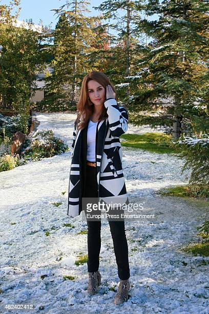 Actresss Megan Montaner attends photo session on January 27 2015 in Madrid Spain