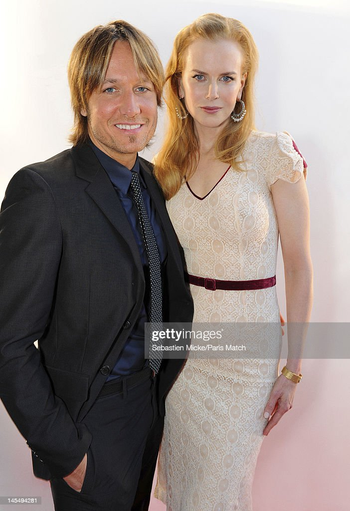 Actresss Nicole Kidman with singer husband Keith Urban photographed at the amfAR Cinema Against AIDS gala, for Paris Match on May 24, 2012, in Cap d'Antibes, France.