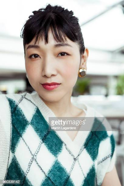 ActressSakura Ando is photographed for Self Assignment on May 2018 in Cannes France