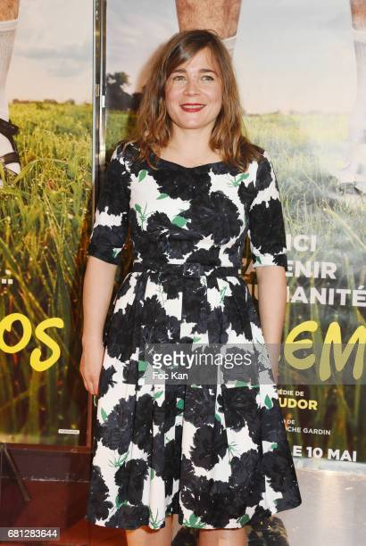 Actress/screenwriter Blanche Gardin attends Problemos Paris Premiere At UGC Cine Cite Les Halles on May 9 2017 in Paris France