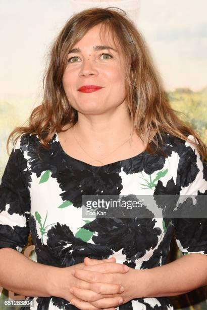 """Actress/screenwriter Blanche Gardin attends """"Problemos"""" Paris Premiere At UGC Cine Cite Les Halles on May 9, 2017 in Paris, France."""