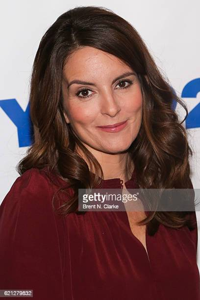 Actress/series creator Tina Fey attends A Conversation With The Writers Of 'The Unbreakable Kimmy Schmidt' held at the 92nd Street Y on November 5...