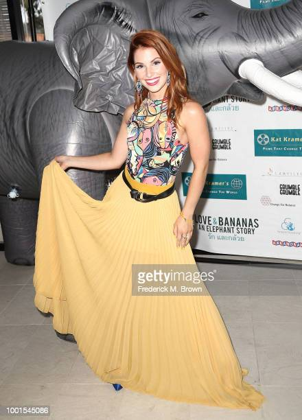 Actress/Singer Ainsley Ross attends 'Sheroes for Change' 10th Anniversay 'Kat Kramer's Films that Change the World' Presents 'Love Bananas' An...