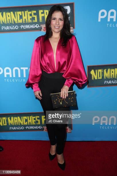 Actress/singer Alessandra Rosaldo attends the premiere of Pantelion Films' ' No Manches Frida 2' at Regal Cinemas LA LIVE Stadium 14 on March 05 2019...
