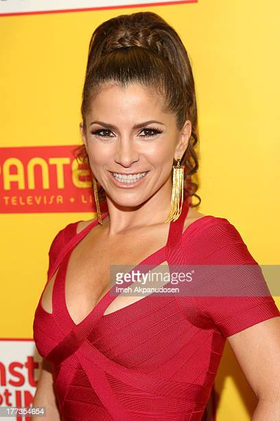 Actress/singer Alessandra Rosaldo attends the premiere of Pantelion Films' 'Instructions Not Included' at TCL Chinese Theatre on August 22 2013 in...