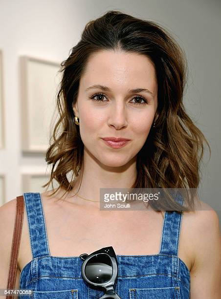 Actress/Singer Alona Tal attends Landon Ross ARTIfACT exhibition opening at LAXART on July 14 2016 in Los Angeles California