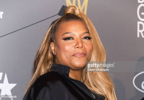 Actress/singer and 2018 Black Girls Rock host Queen Latifah attends 2018 Black Girls Rock at New Jersey Performing Arts Center on August 26 2018 in...