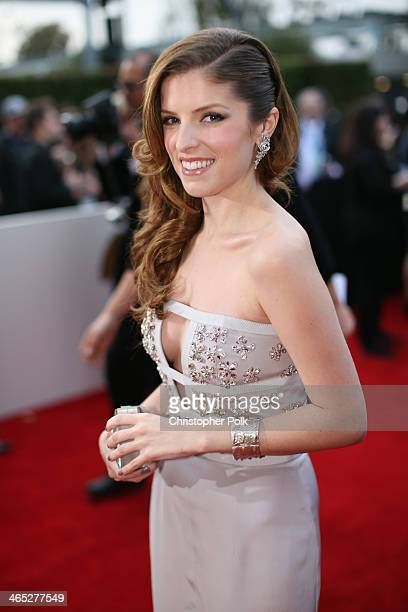 Actresssinger Anna Kendrick attends the 56th GRAMMY Awards at Staples Center on January 26 2014 in Los Angeles California