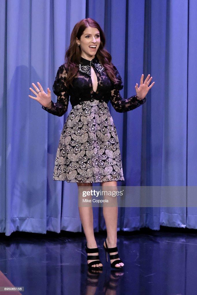 "Anna Kendrick Visits ""The Tonight Show Starring Jimmy Fallon"" : News Photo"