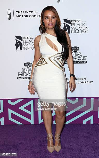 Actress/singer Antonique Smith attends the 2016 ESSENCE Black Women In Music event at Avalon Hollywood on February 11 2016 in Los Angeles California