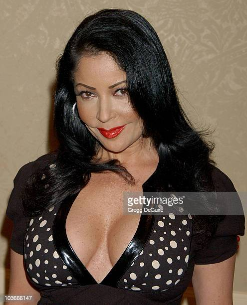 Actress/singer Apollonia Kotero arrives at Project Angel Food's Divine Design Gala Awards dinner at the Beverly Hilton Hotel on November 29 2007 in...