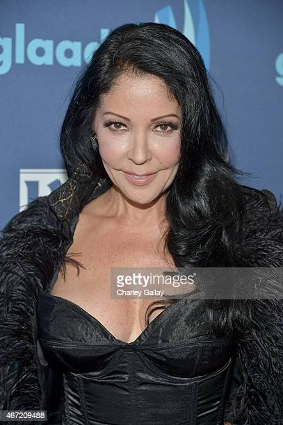 Actress/singer Apollonia Kotero attends the 26th Annual GLAAD Media Awards at The Beverly Hilton Hotel on March 21 2015 in Beverly Hills California